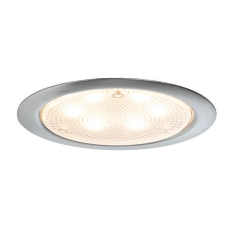 Встраиваемый мебельный светодиодный светильник Paulmann Micro Line LED 93559, LED 2,8W, сталь, металл