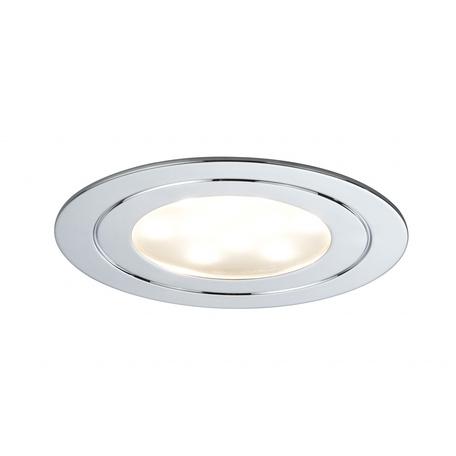 Встраиваемый мебельный светодиодный светильник Paulmann Micro Line LED Circuit 93571, LED 5,6W, хром, металл