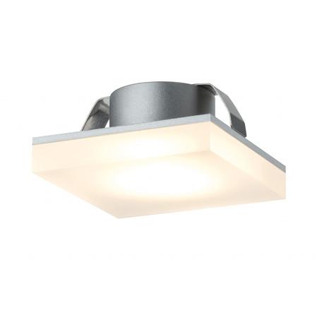 Встраиваемый мебельный светодиодный светильник Paulmann Micro Line LED Fleecy 93574, LED 1,3W, металл, пластик