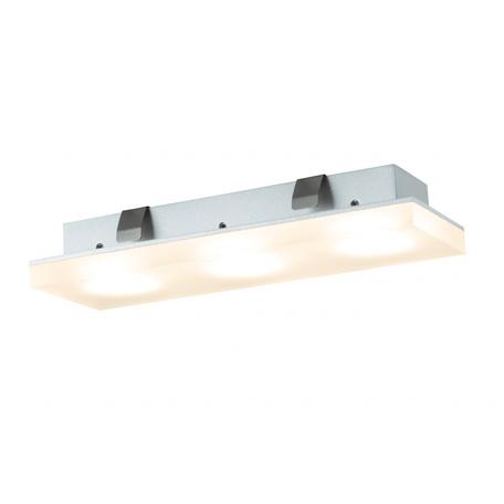Встраиваемый мебельный светодиодный светильник Paulmann Micro Line LED Fleecy 93576, LED 3,6W, металл, пластик
