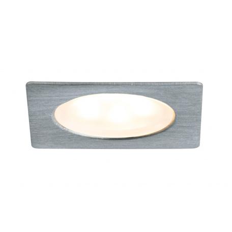 Встраиваемый мебельный светодиодный светильник Paulmann Furniture Mini LED 93587, LED 0,4W, матовый хром, металл