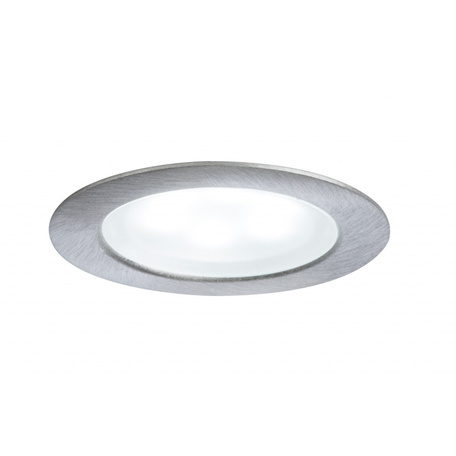 Встраиваемый мебельный светодиодный светильник Paulmann Furniture Mini LED 93588, LED 0,4W, матовый хром, металл