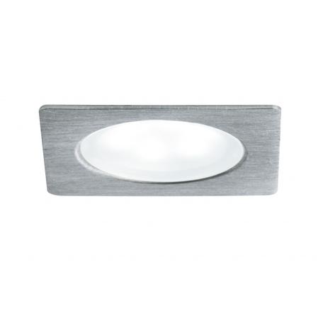 Встраиваемый мебельный светодиодный светильник Paulmann Furniture Mini LED 93589, LED 0,4W, серый, металл