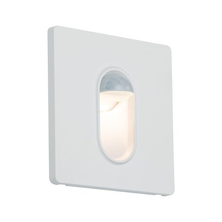 Встраиваемый настенный светодиодный светильник Paulmann Wall 230V 92923, LED 2,7W, белый, пластик