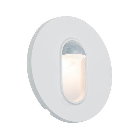 Встраиваемый настенный светодиодный светильник Paulmann Wall 230V 92925, LED 2,7W, белый, пластик