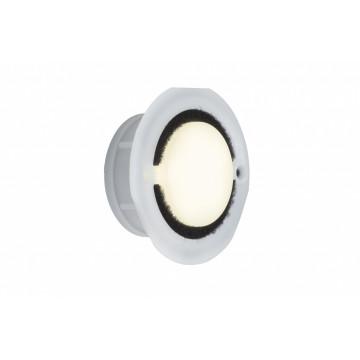 Встраиваемый настенный светодиодный светильник Paulmann IP65 Downlight Basic 93740, IP65, LED 1,4W, белый, пластик