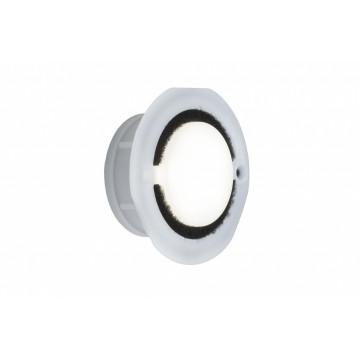 Встраиваемый настенный светодиодный светильник Paulmann IP65 Downlight Basic 93741, IP65, LED 1,4W, белый, пластик