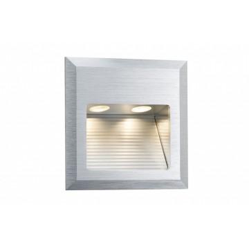 Встраиваемый настенный светодиодный светильник Paulmann Wall LED Quadro 93753