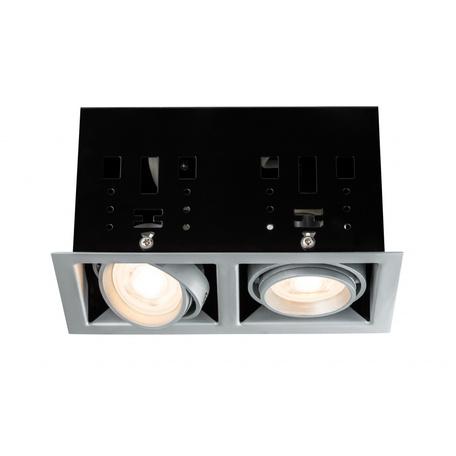 Встраиваемый светильник Paulmann Premium Cardano GU10 dimmable 92906, 2xGU10x10W, металл