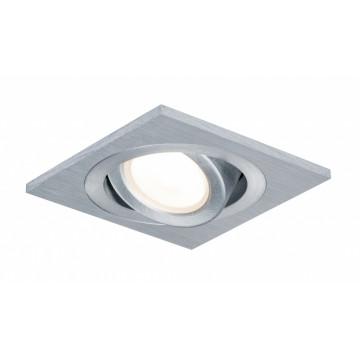 Встраиваемый светодиодный светильник Paulmann Premium Drilled Alu 92918, IP23, LED 4W, алюминий, металл