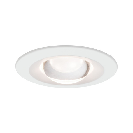 Встраиваемый светодиодный светильник Paulmann Premium Nova anti glare lens dim 92931, IP44, LED 6,8W, белый, металл