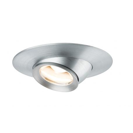 Встраиваемый светодиодный светильник Paulmann Premium Line LED Focus 93579, LED 3,8W, металл