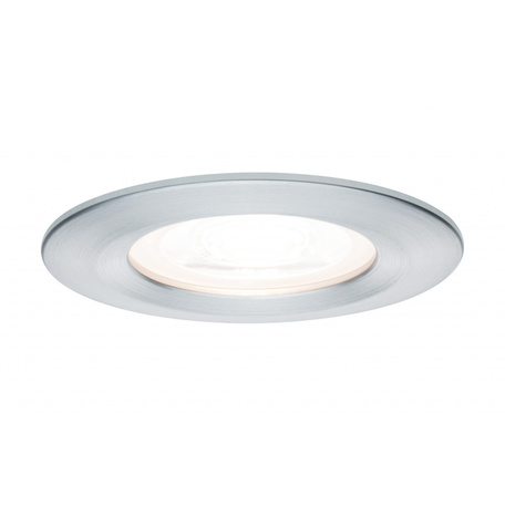 Встраиваемый светильник Paulmann Premium LED Nova 230V GU10 51mm dimmable 93594, IP44, 1xGU10x7W, алюминий, металл
