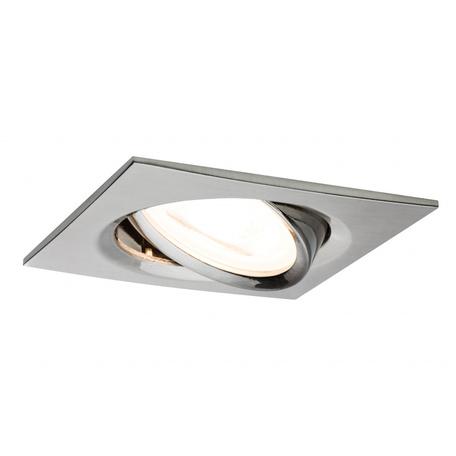 Встраиваемый светильник Paulmann Premium LED Nova 230V GU10 51mm dimmable 93619, IP23, 1xGU10x7W, металл