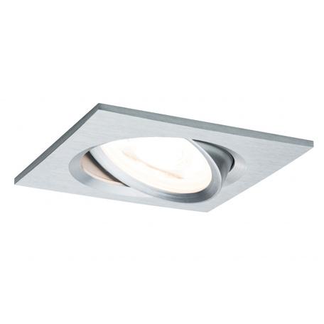 Встраиваемый светильник Paulmann Premium LED Nova 230V GU10 51mm dimmable 93622, IP23, 1xGU10x7W, металл