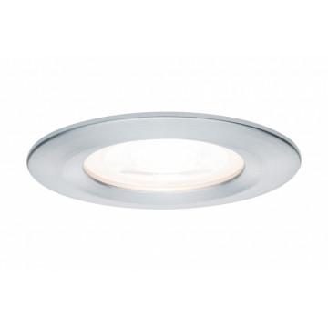 Встраиваемый светильник Paulmann Premium LED Nova 230V GU10 51mm dimmable 93632, IP44, 1xGU10x35W, алюминий, металл