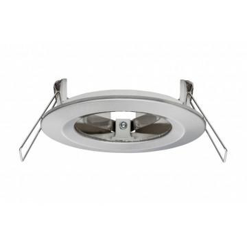 Встраиваемый светодиодный светильник Paulmann 2Easy Spot-Set Premium Nova 93637, LED 7W, матовый хром, металл