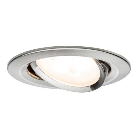 Встраиваемый светильник Paulmann Premium Nova Warm Dim adjustable 230V GU10 51mm 93649, IP23, 1xGU10x5W, металл