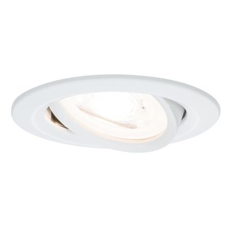 Встраиваемый светильник Paulmann Premium Nova adjustable 230V GU10 51mm 93651, IP23, 1xGU10x5,5W, металл