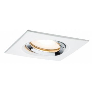 Встраиваемый светильник Paulmann Premium Nova IP65 adjustable GU10/GU5,3 93664, IP65, 1xGU5.3x35W, металл