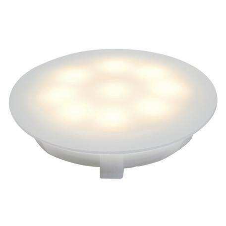 Встраиваемый в уличное покрытие светодиодный светильник Paulmann UpDown Light 93700, IP67, LED 1W, белый, пластик