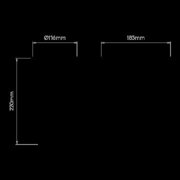 Схема с размерами Astro 1368008