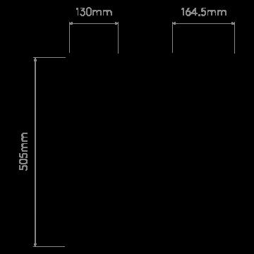 Схема с размерами Astro 1369001