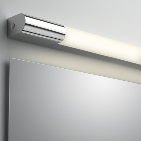 Настенный светодиодный светильник Astro Palermo 1084021 (7619), IP44, LED 8,1W 3000K 364lm CRI80, хром, пластик - миниатюра 1