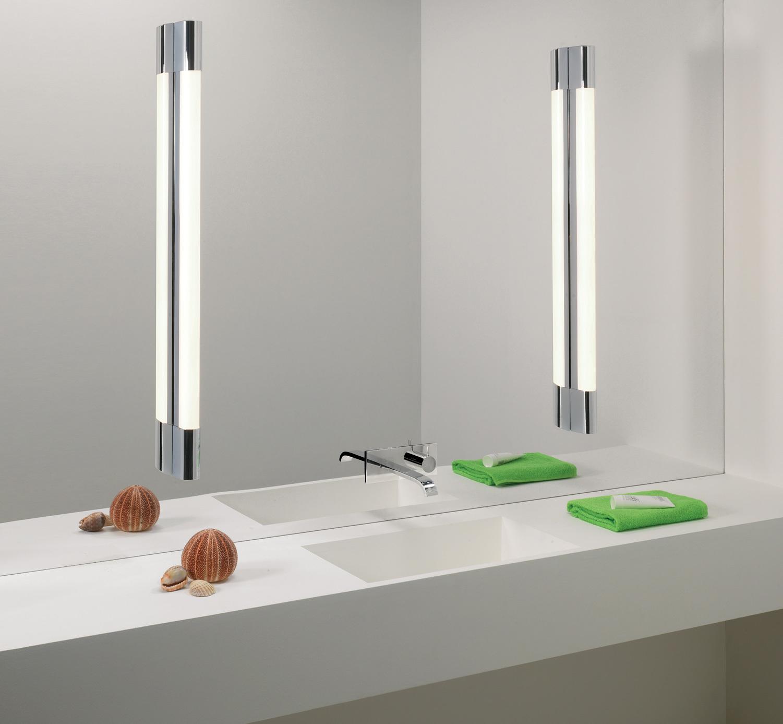 Настенный светодиодный светильник Astro Palermo 1084022 (7620), IP44, LED 13,6W 3000K 650lm CRI80, хром, пластик - фото 2