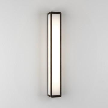 Настенный светодиодный светильник Astro Mashiko 1121038 (7906), IP44, LED 9,6W 3000K 657.8lm CRI80, белый, бронза, пластик