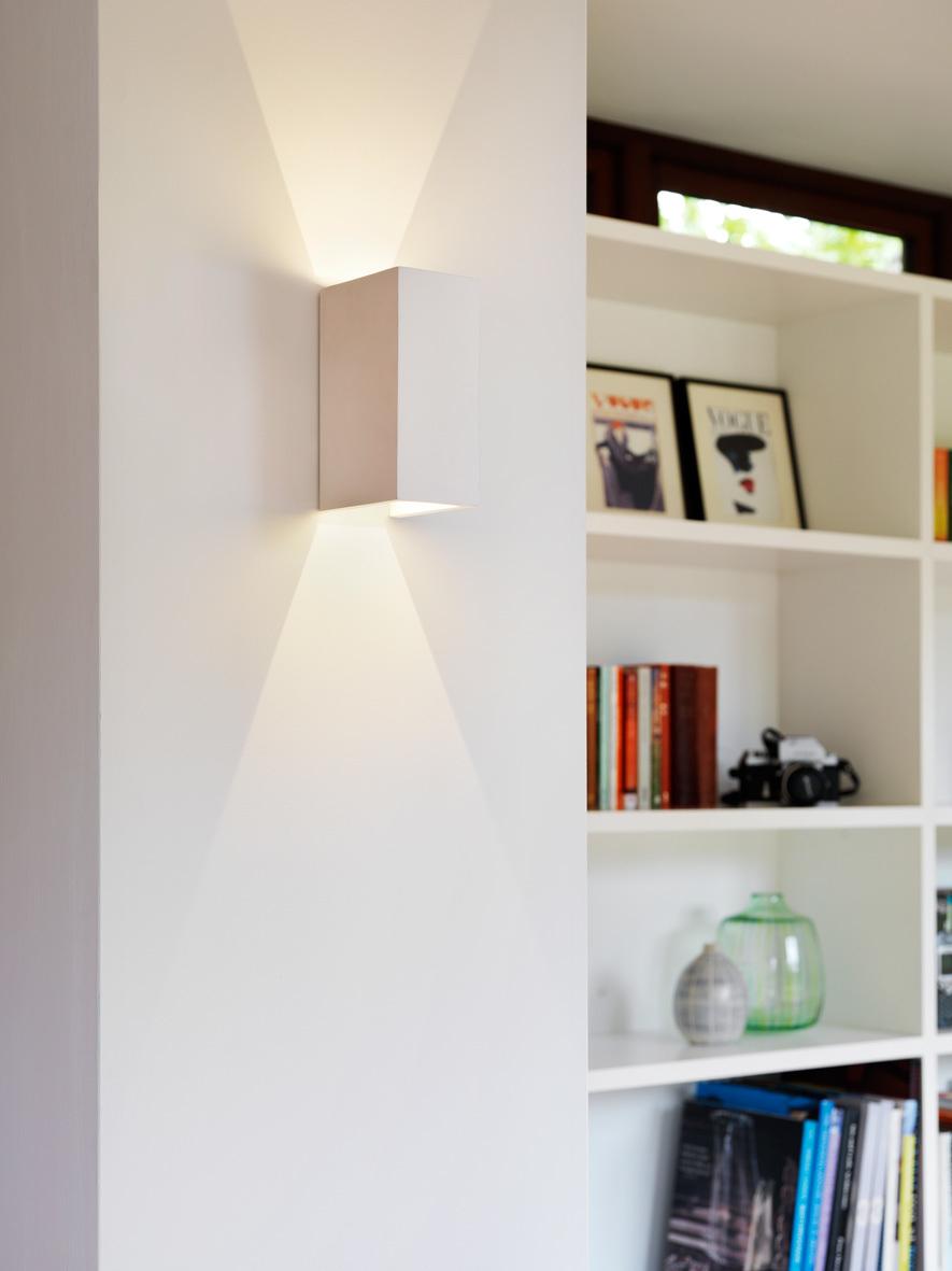 Настенный светодиодный светильник Astro Parma 1187014 (7598), LED 6,4W 2700K 154.59lm CRI80, белый, под покраску, гипс - фото 2
