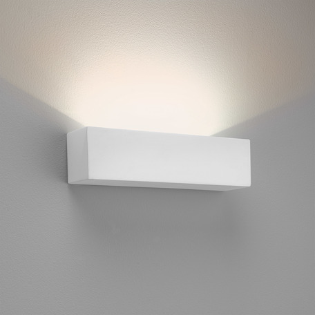 Настенный светодиодный светильник Astro Parma 1187015 (7599), LED 8,7W 2700K 319lm CRI80, белый, под покраску, гипс