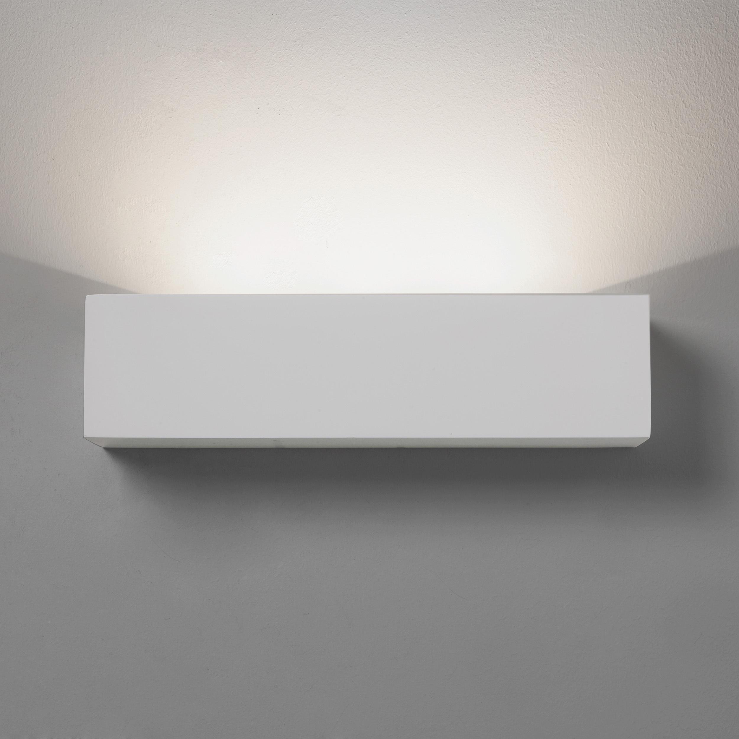 Настенный светодиодный светильник Astro Parma 1187015 (7599), LED 8,7W 2700K 319lm CRI80, белый, под покраску, гипс - фото 2