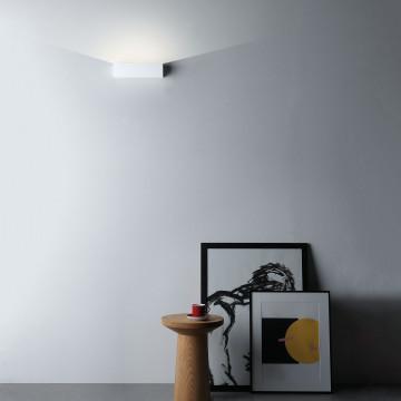 Настенный светодиодный светильник Astro Parma 1187015 (7599), LED 8,7W 2700K 319lm CRI80, белый, под покраску, гипс - миниатюра 3