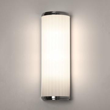 Настенный светодиодный светильник Astro Monza 1194018 (7840), IP44, белый, хром, металл, стекло