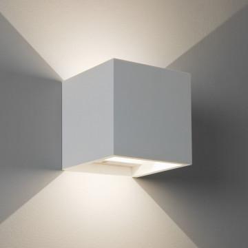 Настенный светодиодный светильник Astro Pienza 1196006 (7607), LED 5,7W 2700K 357lm CRI80, белый, под покраску, гипс