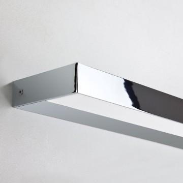 Настенный светодиодный светильник Astro Axios 1307006 (7492), IP44, LED 13,4W 3000K 998lm CRI80, белый, хром, металл, пластик