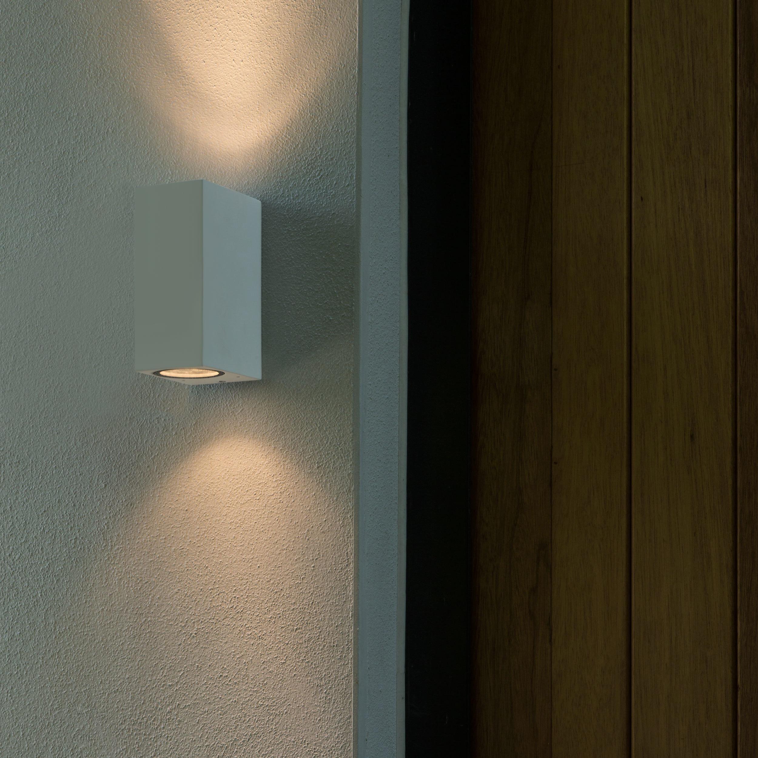Настенный светильник Astro Chios 1310006 (7565), IP44, 2xGU10x6W, белый, металл, стекло - фото 2