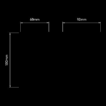 Схема с размерами Astro 1310006