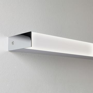 Настенный светодиодный светильник Astro Sparta 1322007 (7977), IP44, LED 17,7W 3000K 918.83lm CRI80, хром, пластик