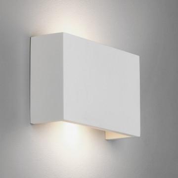 Настенный светодиодный светильник Astro Rio 1325008 (7937), LED 5,88W 2700K 195.37lm CRI80, белый, под покраску, гипс