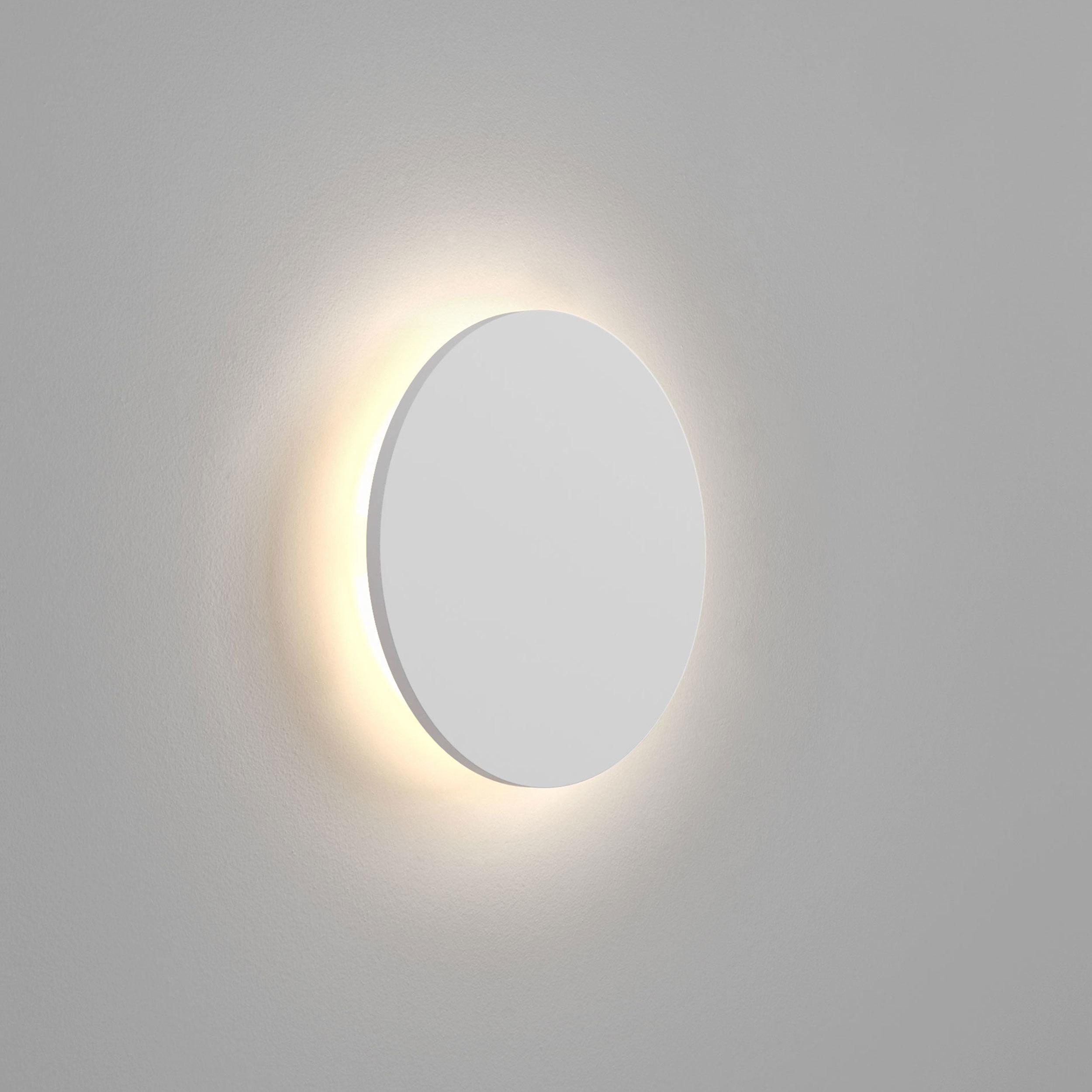 Настенный светодиодный светильник Astro Eclipse 1333005 (7611), LED 8,1W 2700K 357.43lm CRI60, белый, под покраску, гипс - фото 1
