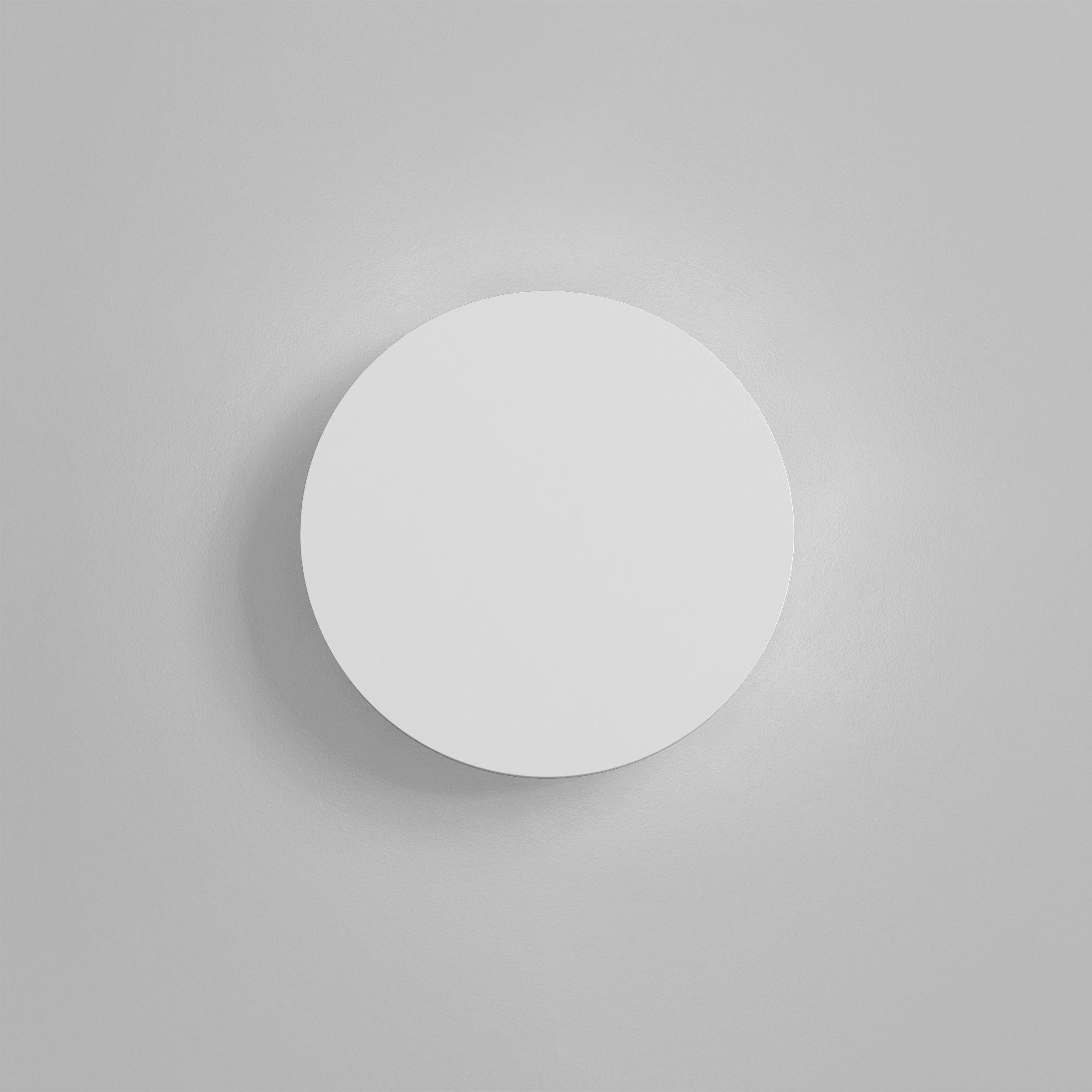 Настенный светодиодный светильник Astro Eclipse 1333005 (7611), LED 8,1W 2700K 357.43lm CRI60, белый, под покраску, гипс - фото 2