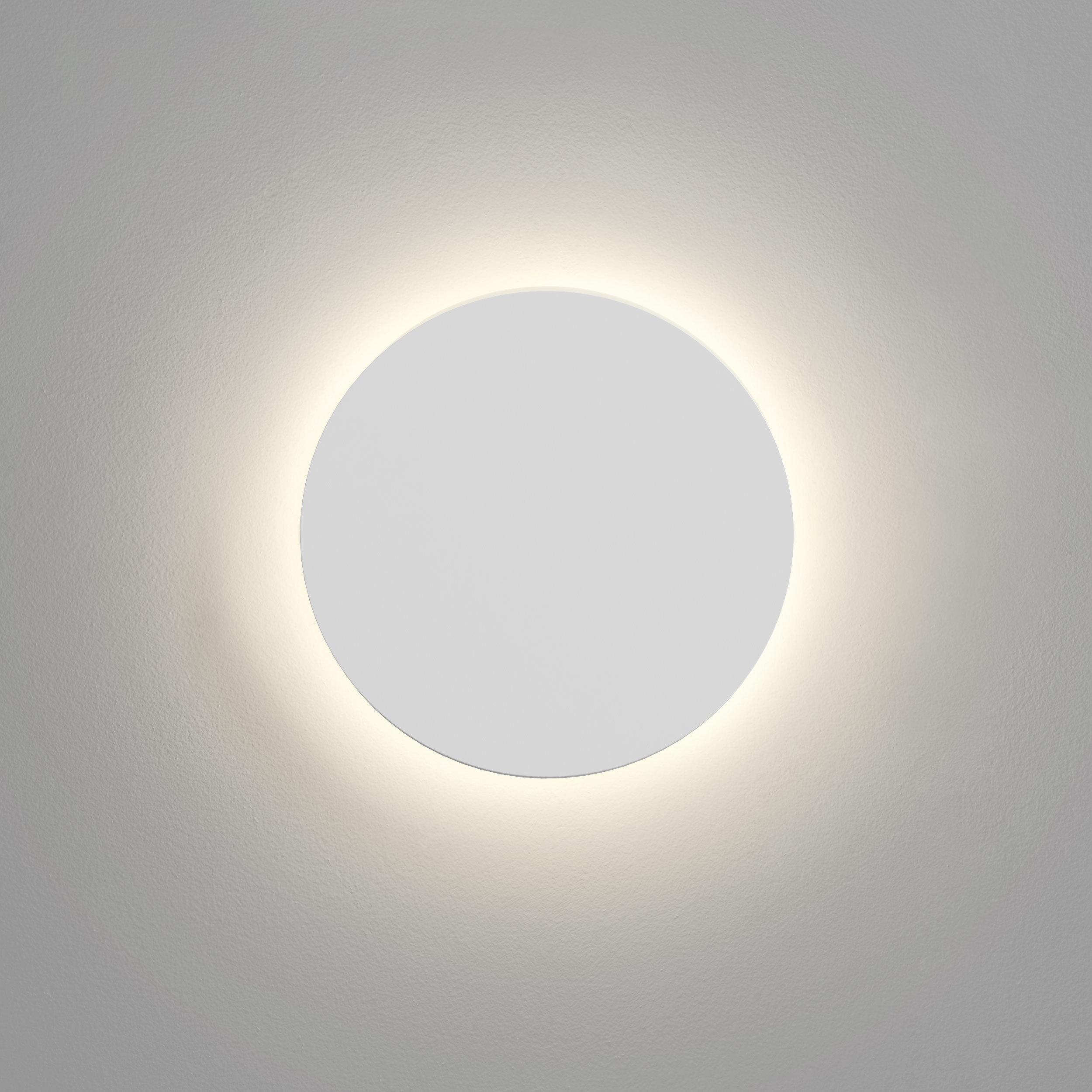 Настенный светодиодный светильник Astro Eclipse 1333005 (7611), LED 8,1W 2700K 357.43lm CRI60, белый, под покраску, гипс - фото 3