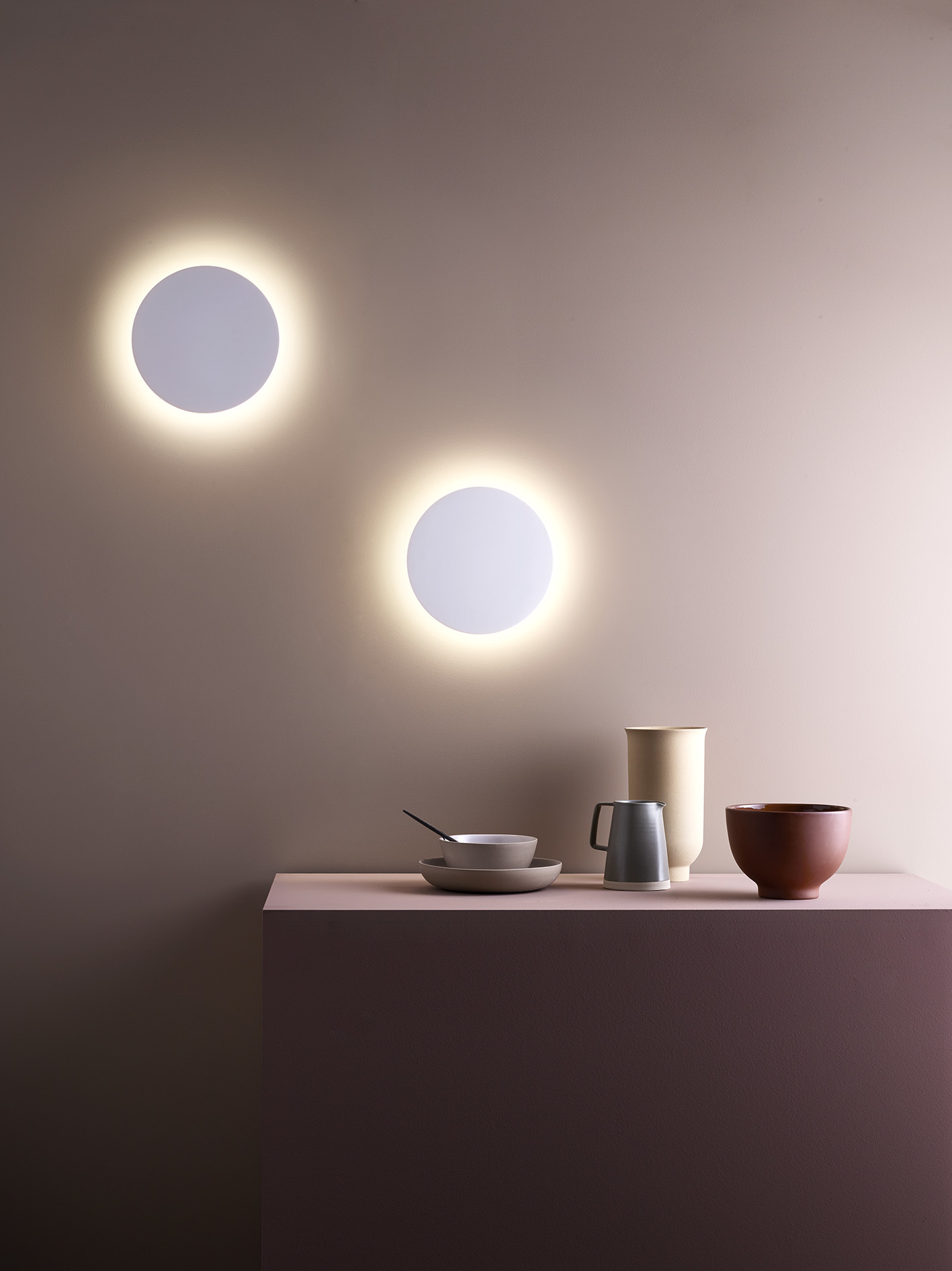 Настенный светодиодный светильник Astro Eclipse 1333005 (7611), LED 8,1W 2700K 357.43lm CRI60, белый, под покраску, гипс - фото 5