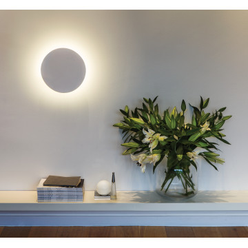 Настенный светодиодный светильник Astro Eclipse 1333005 (7611), LED 8,1W 2700K 357.43lm CRI60, белый, под покраску, гипс - миниатюра 6