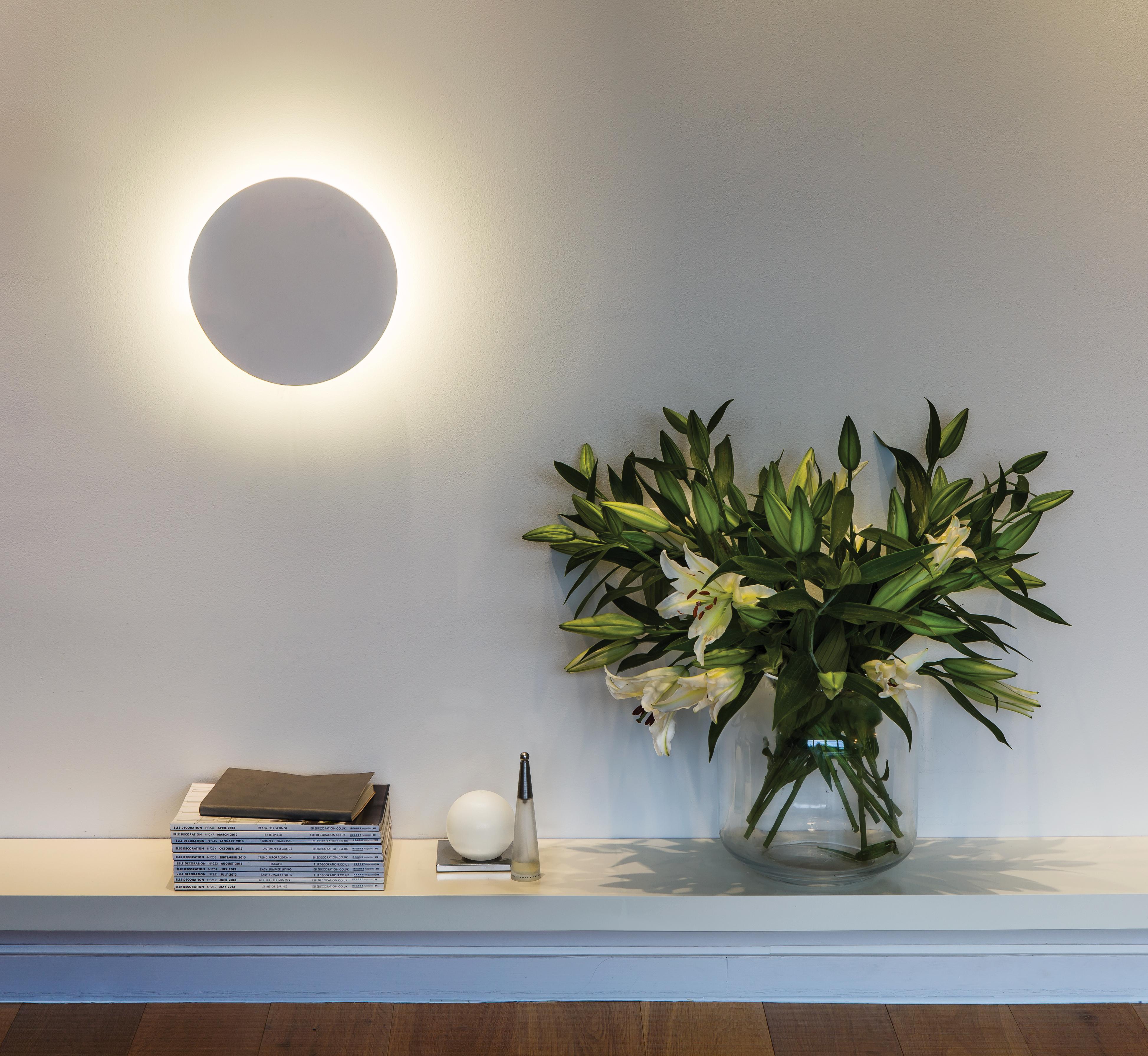 Настенный светодиодный светильник Astro Eclipse 1333005 (7611), LED 8,1W 2700K 357.43lm CRI60, белый, под покраску, гипс - фото 6