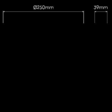 Схема с размерами Astro 1333005