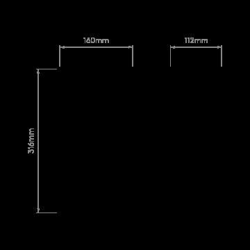 Схема с размерами Astro 1339002