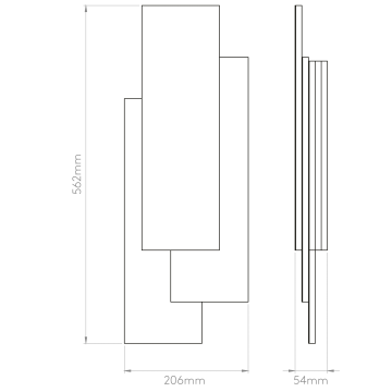 Схема с размерами Astro 1352006